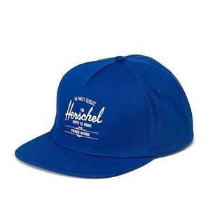 Herschel unisex retro blue logo baseball cap NWT